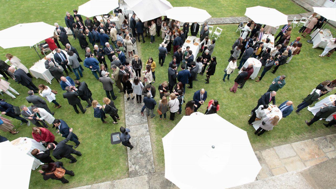 Animada fiesta de los abogados lucenses