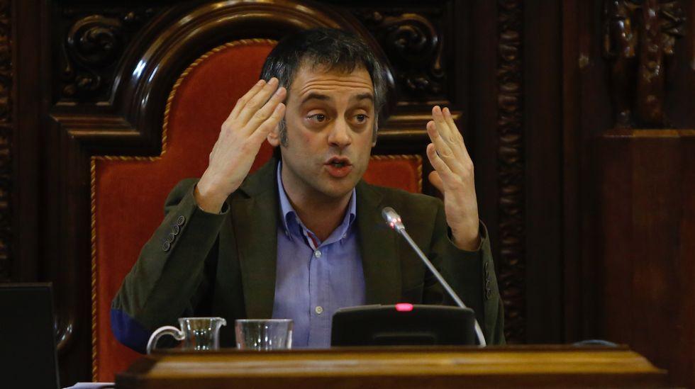 Moción de confianza en el Ayuntamiento de A Coruña