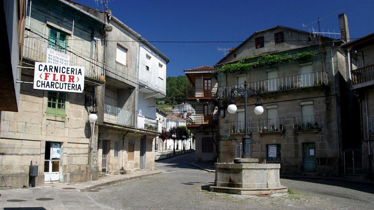 Clausura de la Feira do Viño do Ribeiro.Este año no habrá carpas en la Alameda como en ediciones anteriores. En la imagen, la del 2018