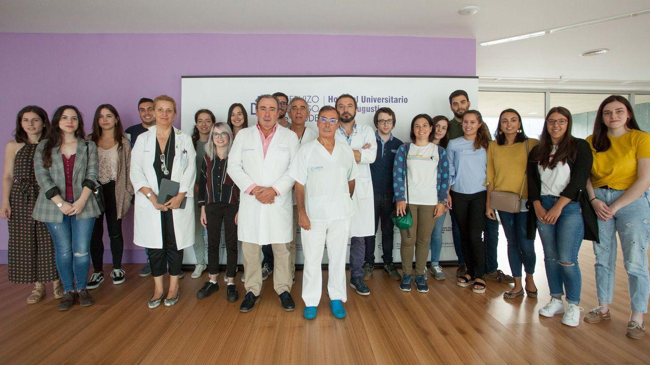 Espectaculares riadas en Ernes.El doctor Sergio Vazquez, Jefe del Servicio de Oncologia del HULA