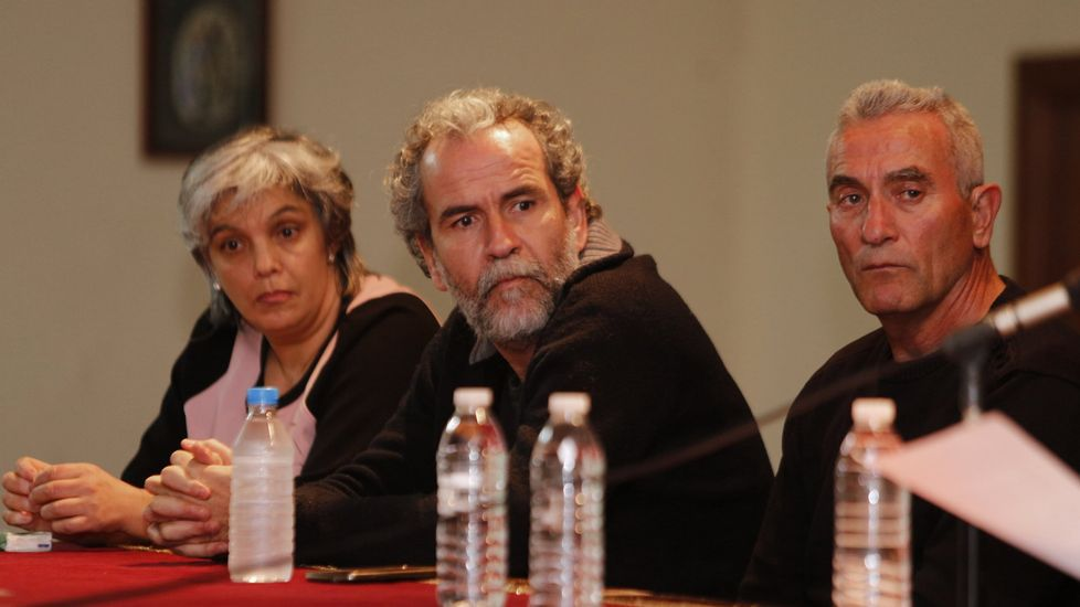 Willy Toledo, en un acto en A Coruña el pasado mes de marzo