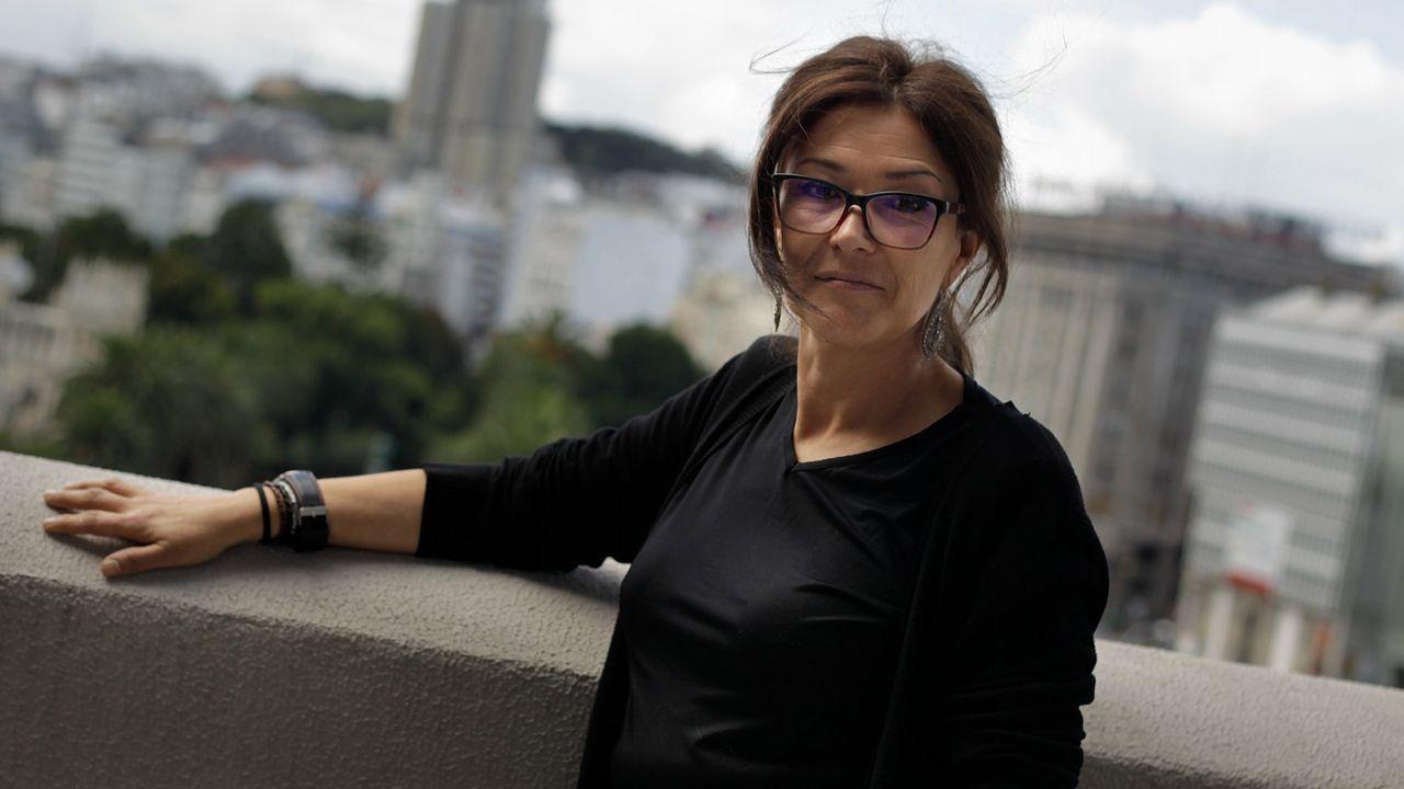 Ánxela Franco, diputada de Benestar Social, Educación e Políticas de Igualdade.