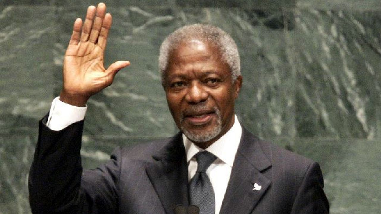 Kofi Annan muere a los 80 años