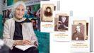A poeta Luz Pozo asina o primeiro libro da colección, «Follas novas», de Rosalía de Castro