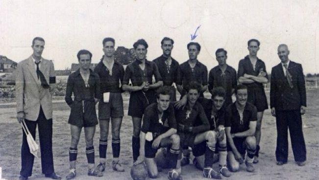 El equipo en 1944