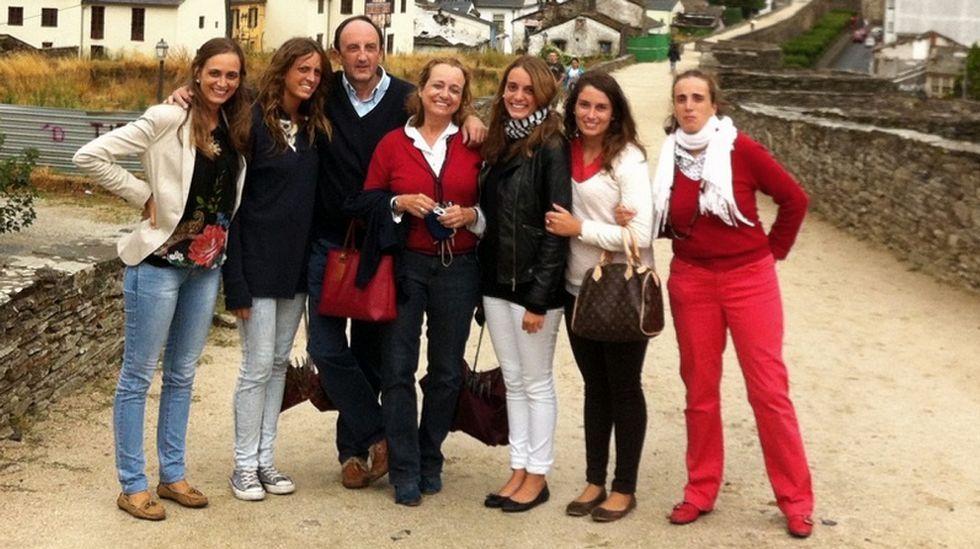 Federico Fernández de Buján visita con frecuencia Lugo con su familia