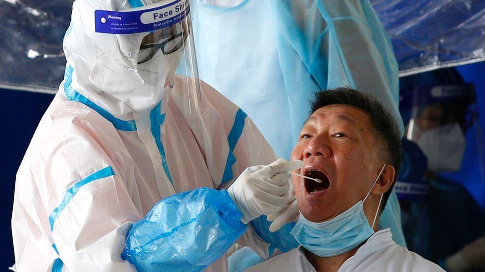 Imágenes de la pandemia en el mundo 27/07.Ana Varela en la aldea Hahoe, patrimonio de la humanidad por la Unesco, en la ciudad de Andong, en Corea del Sur.