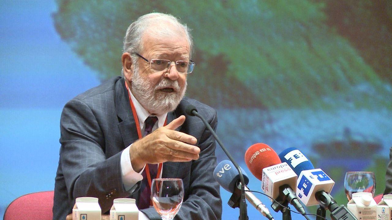 Pedro Sánchez, este jueves, con el presidente electo del Consejo Europeo, Charles Michel