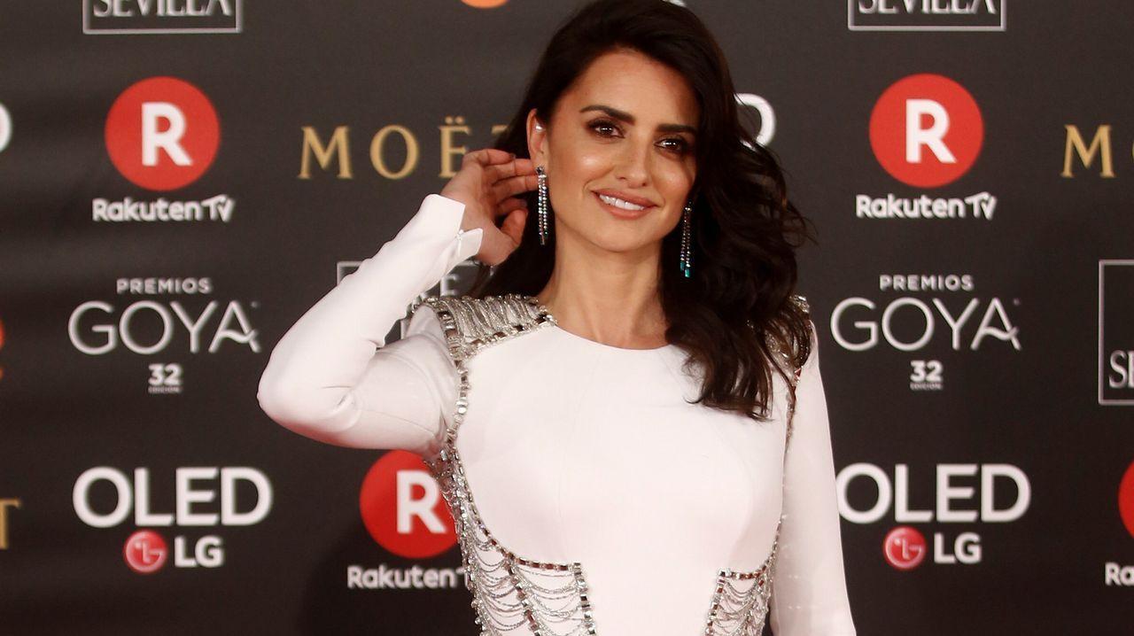 La actriz Penélope Cruz