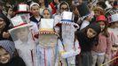 Los troteiros de Bande participan en el carnaval de los colegios de Lamas de Abade