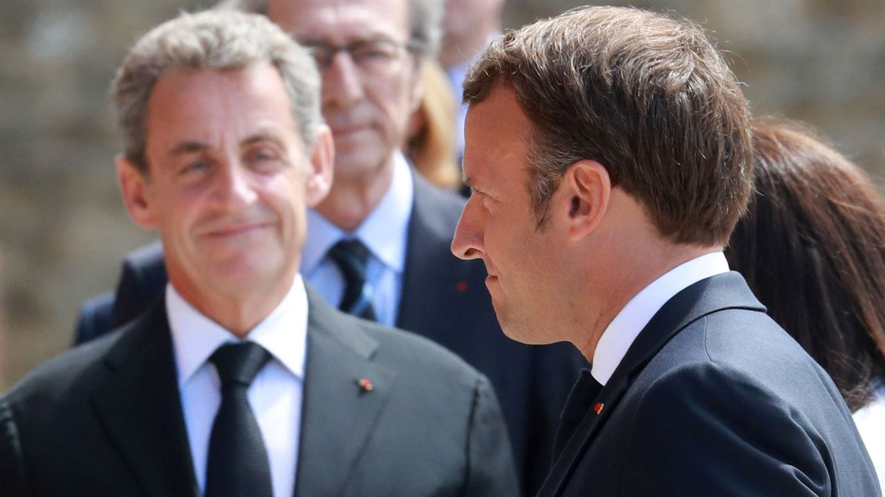 Boris Johnson y Emmanuel Macron, este jueves, en Downing Street