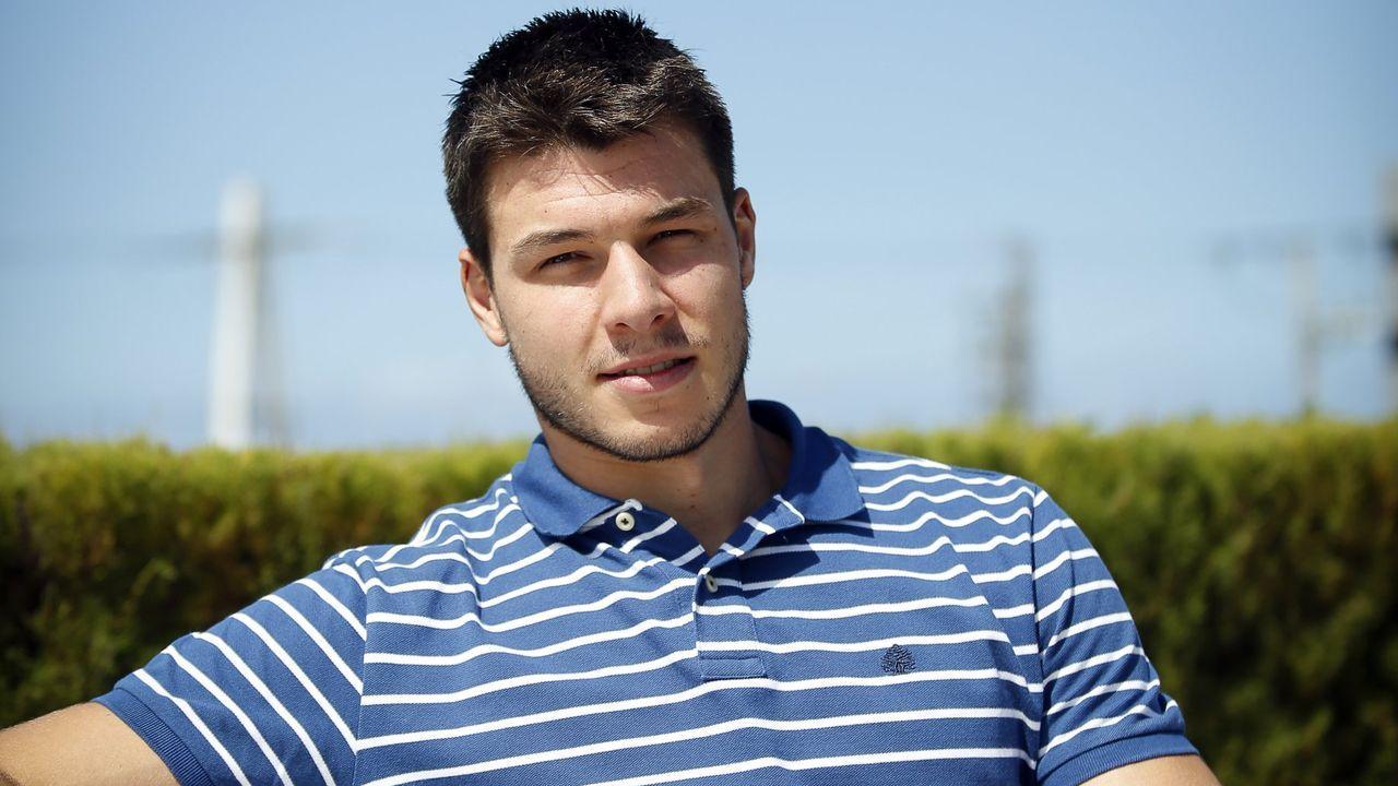 García llegó al COB en la temporada 2013/2014
