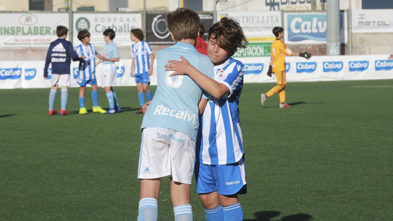 ¡Así se vivieron las dos finales del Torneo de Fútbol 11 Alevín Conservas Calvo!