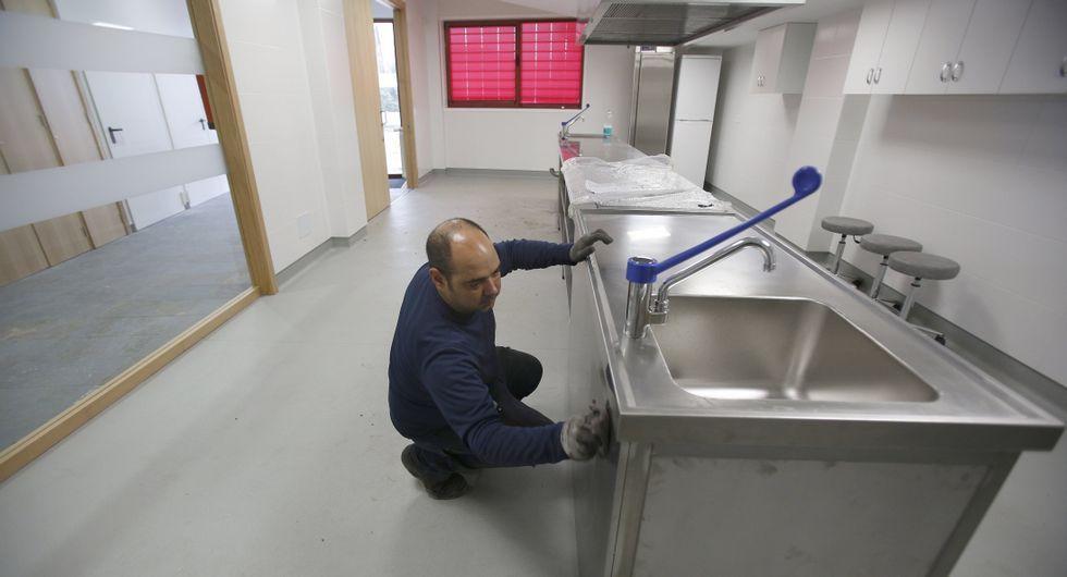 También contará con una cocina industrial en la planta baja.