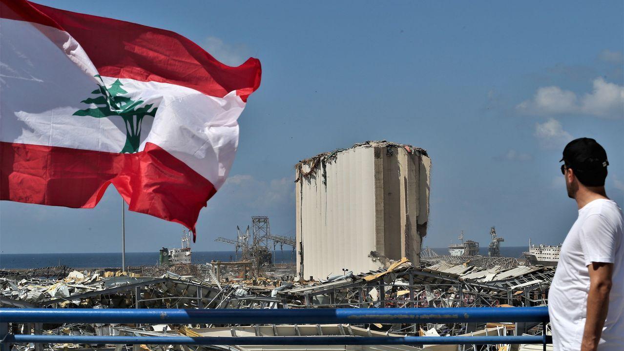 José Andrés está en Beirut.Manifestantes protestan contra el resultado de las elecciones bielorrusas, que consideran fraudulentas