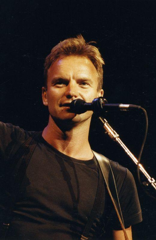 Sting en A Coruña en 1991