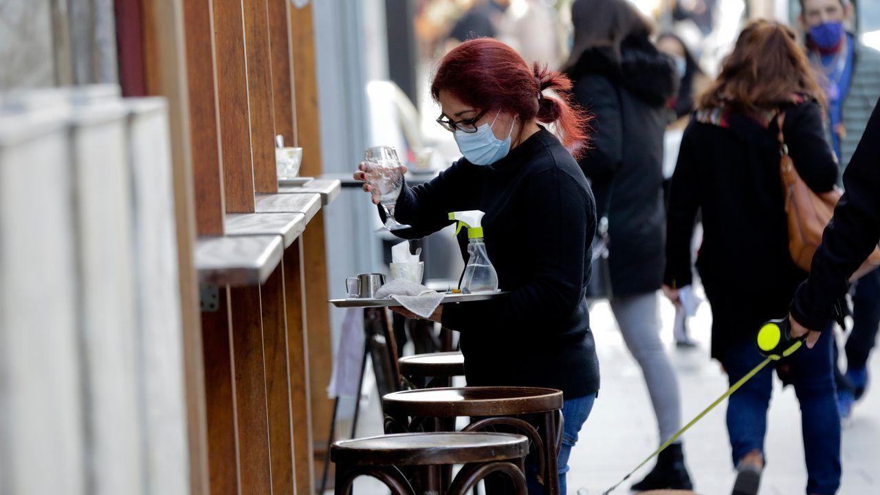 Gadisa, la logística al servicio del cliente.Primer día con la hostelería solo pudiendo trabajar la terraza
