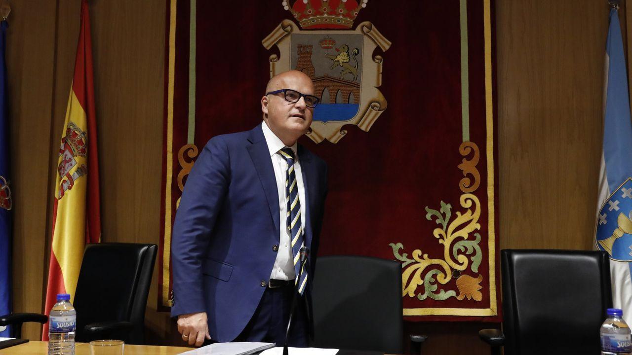 El estado de La Pajarera, en imágenes.José Manuel Baltar, presidente de la Diputación ourensana