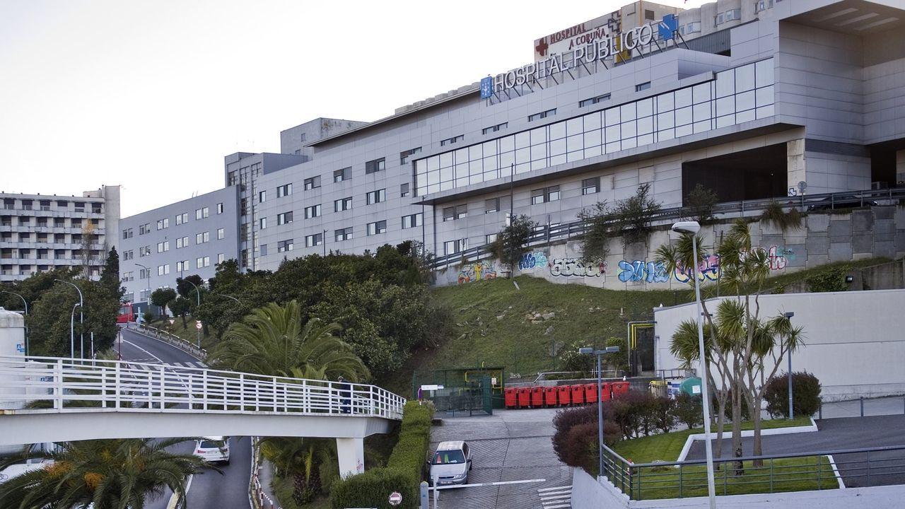EN DIRECTO: primer positivo por coronavirus en Galicia. La consellería informa de todos los detalles.Vista del Chuac