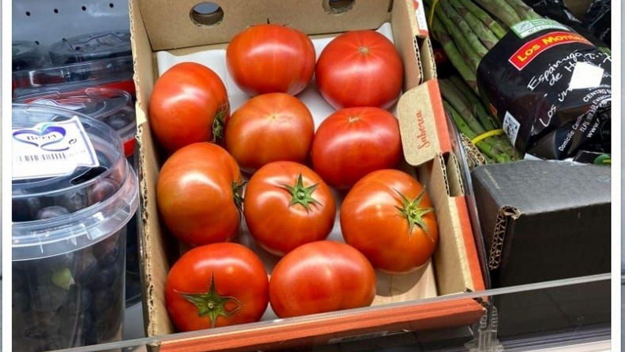 McDonald's prefiere el queso de Lugo.Estos tomates de alto precio destacan por un sabor dulce