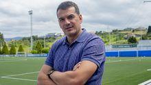 Esteban Suárez posa para La Voz de Asturias