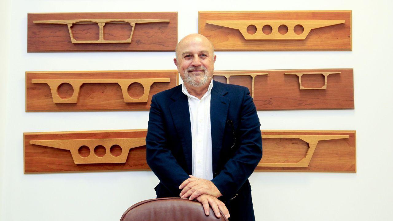 José Manuel Otero Alonso, presidente del Grupo Puentes