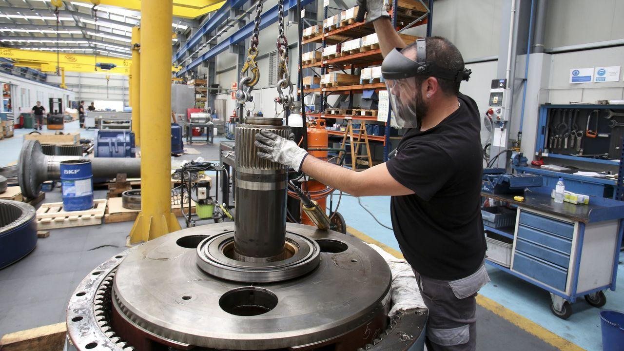 Las empresas del grupo Intaf están especializadas en el sector metalúrgico