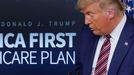 Donald Trump compareció el pasado viernes ante la prensa, pero no aceptó preguntas de los periodistas