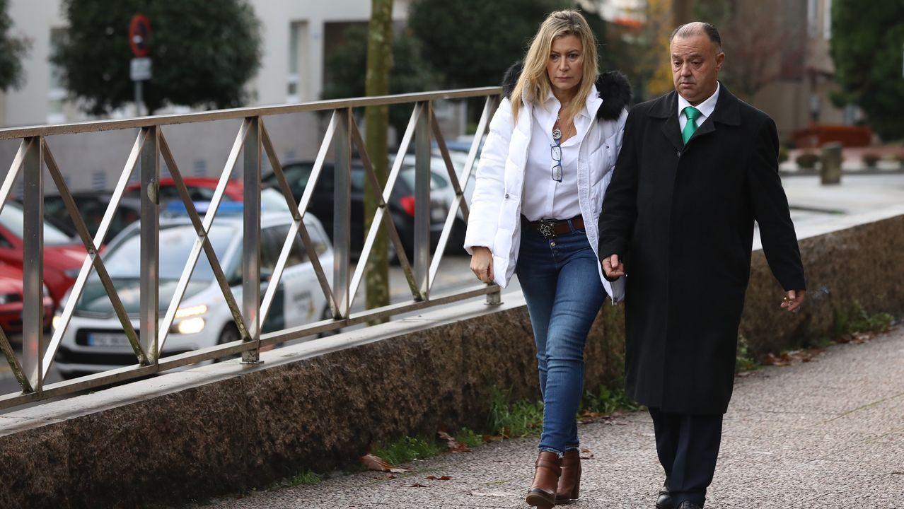 La madre de Diana Quer llega a la décima jornada del juicio por el asesinato de su hija