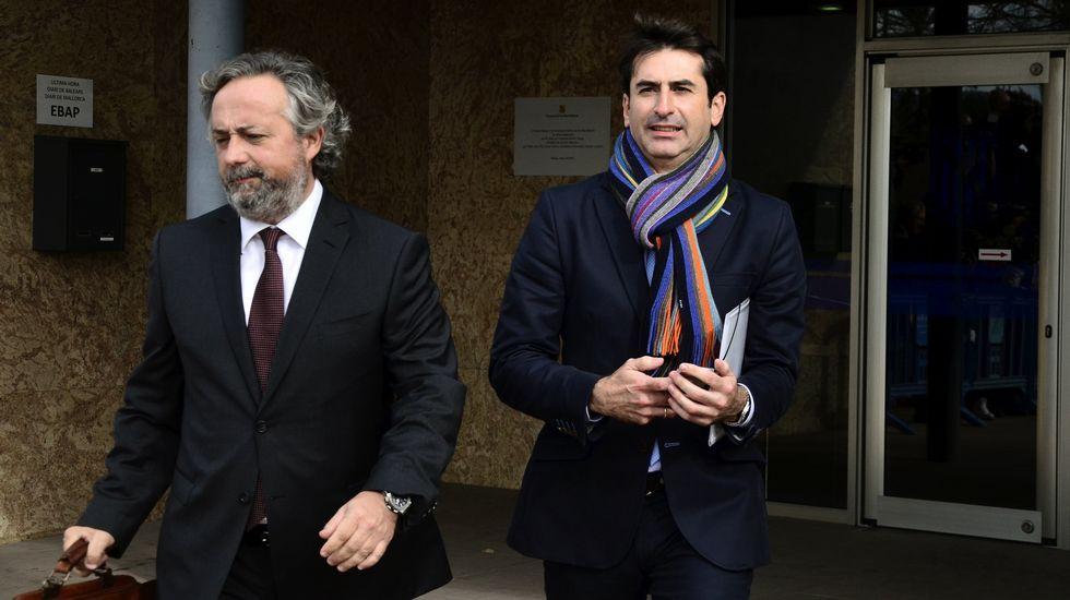 El exgerente de la Fundación Illesport, Gonzalo Bernal