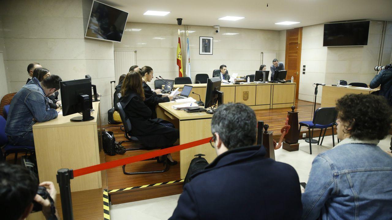 Sexta jornada del juicio
