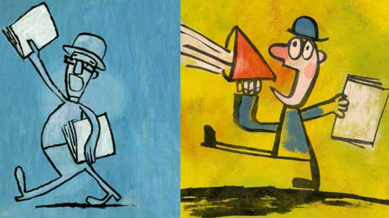 Más de diez millones de euros en Vigo con el 38341.Ilustracións de Marc Taeger no último libro-cedé de Paco Nogueiras