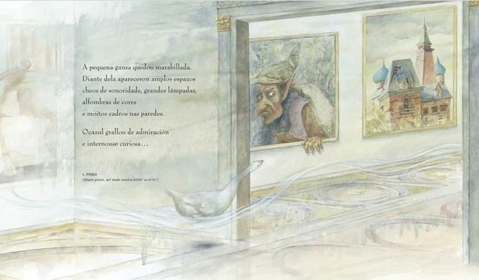 «Orejas de mariposa» es uno de los libros más demandadados de Kalandraka.El libro-disco de José Antonio Abad está ilustrado por Xosé Cobas.