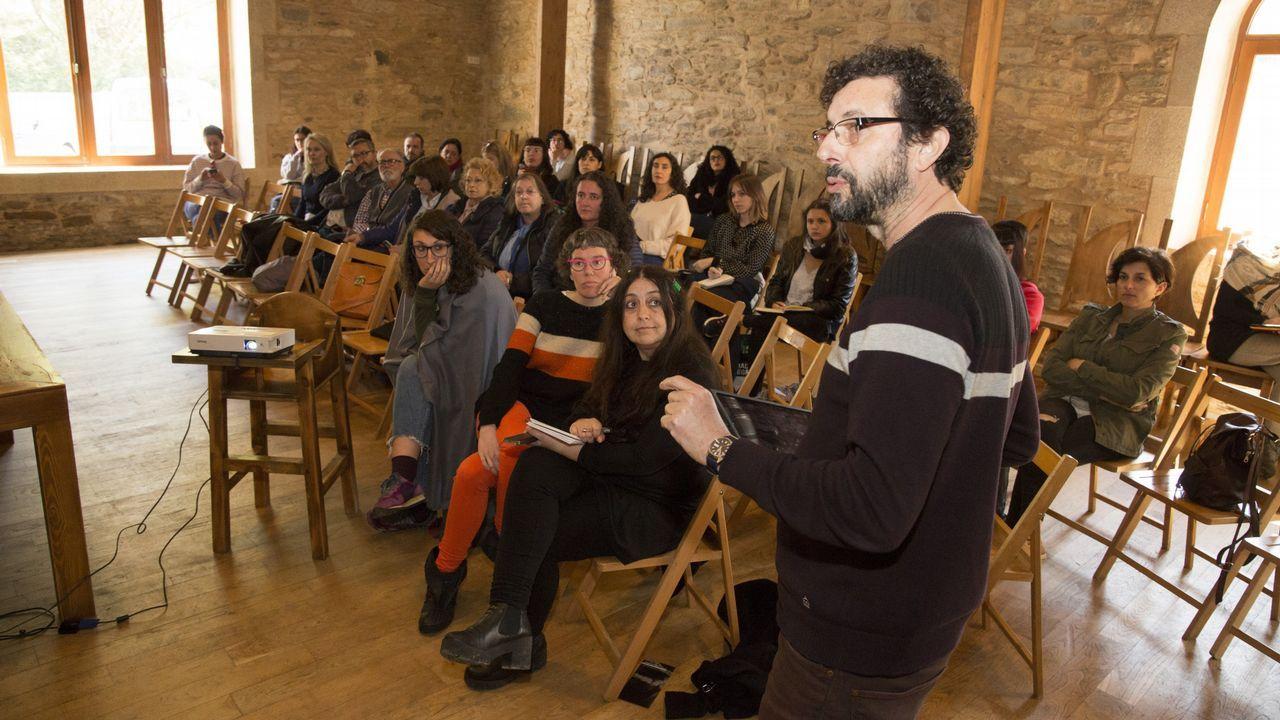 Granrespuesta del público a las visitas teatralizadas en Vimianzo: ¡las imágenes!.Imagen de recurso de Baio