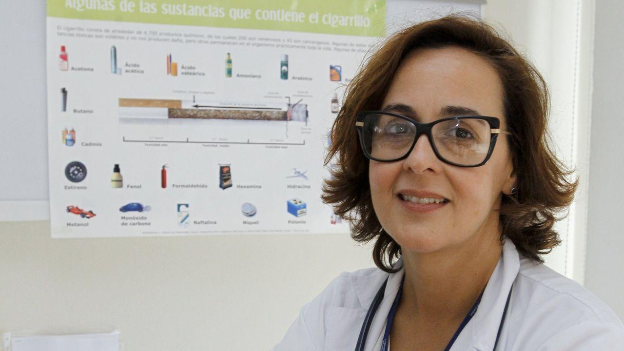 Carmen Diego Roza, neumóloga:  El 2020 ha sido el año más duro de mi carrera profesional