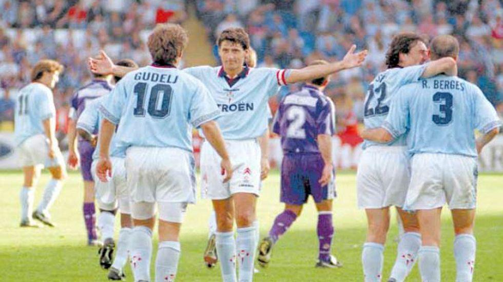 Salvación ganando al Madrid en 1997