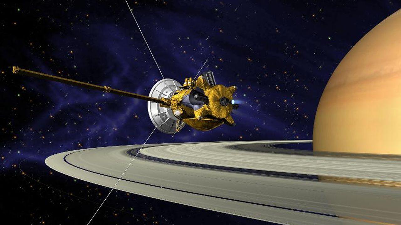 El épico final de Cassini.Alumnos de primero de ESO de Maristas