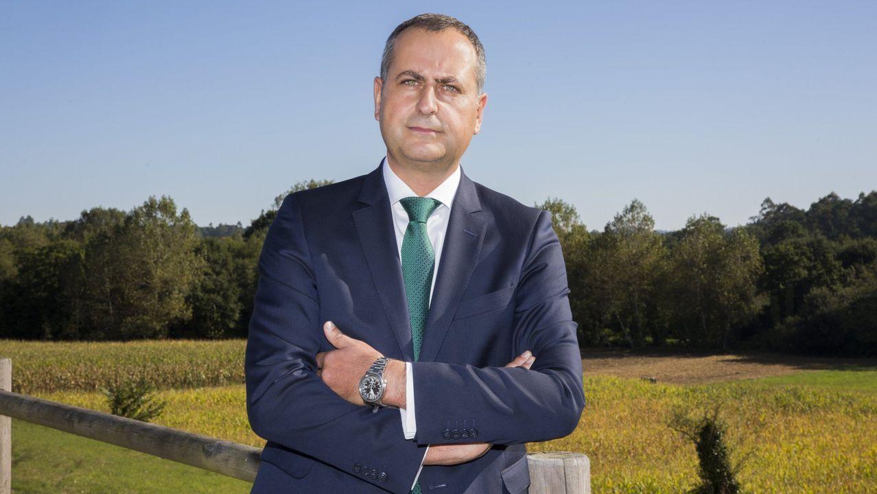 El director da Fundación Juana de Vega, José Manuel Andrade, destaca la importancia del apoyo al emprendimiento en el rural