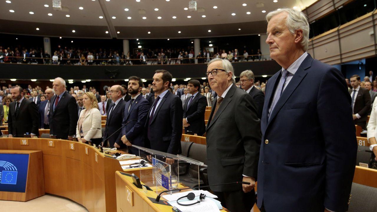 Al menos cinco apuñalados en un ataque con arma blanca en Mánchester.En una intervención ante la Eurocamra, Barnier admitió  que no se está «en posición de alcanzar un pacto» con Londres
