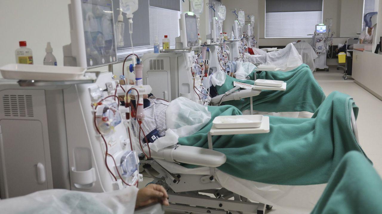 En la primera ola del covid estuvieron ingresados en el hospital de Barbanza 29 personas con covid, y desde entonces solo han sido media docena más