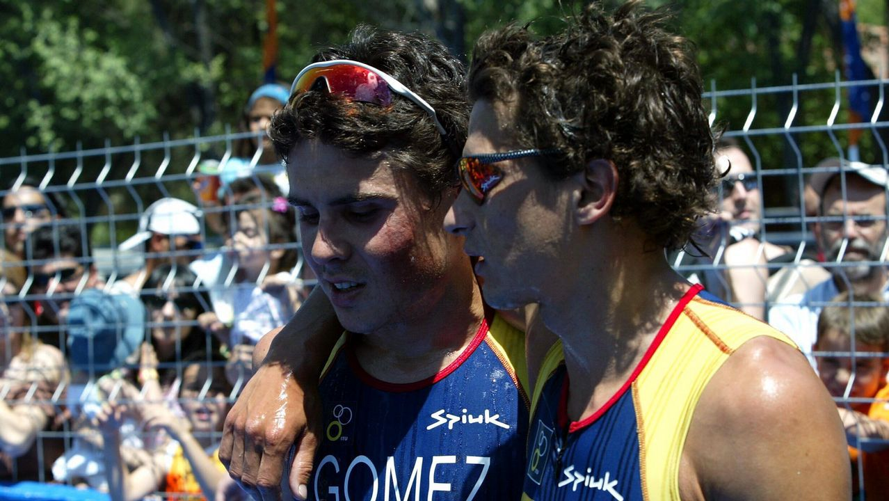 Raña y Gómez Noya, una pasión común con muchos momentos inolvidables
