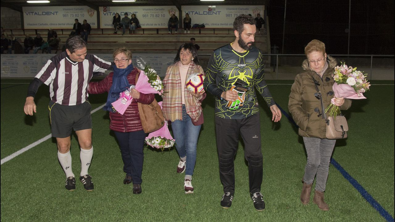 El partido de homenaje a Luis de Rafael, en imágenes.Esmorgadirt en Sarria