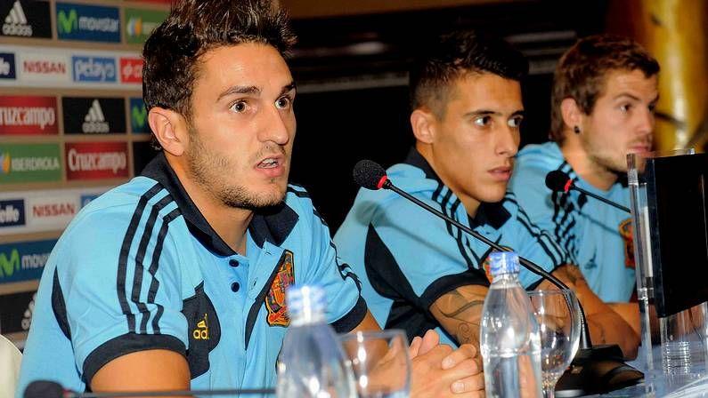 Koke, Tello e Íñigo Martínez