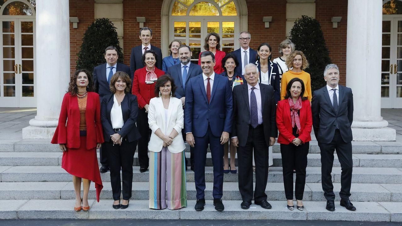 El Gobierno de Pedro Sánchez, en una imagen del pasado octubre