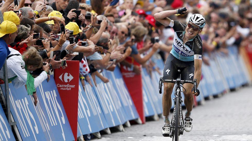 Tony Martin gana la cuarta etapa del Tour