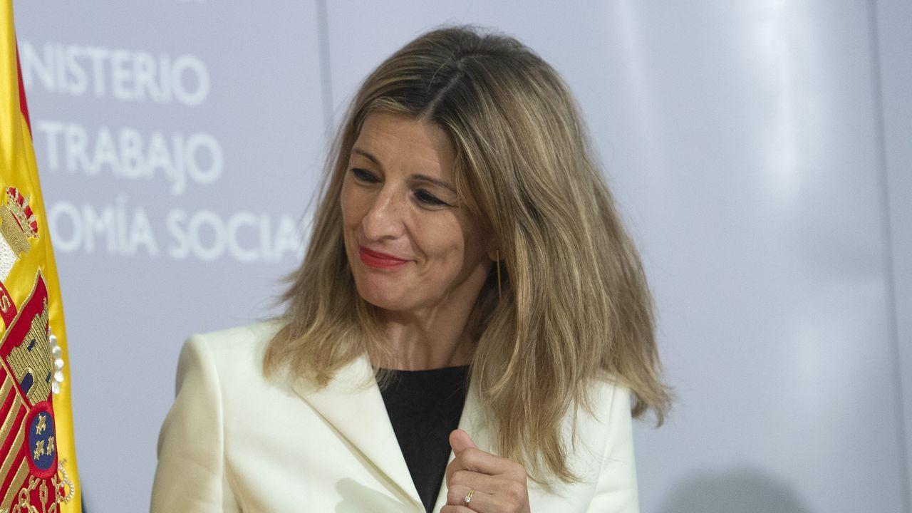 La vicepresidenta tercera del Gobierno y ministra de Trabajo y Economía Social, Yolanda Díaz