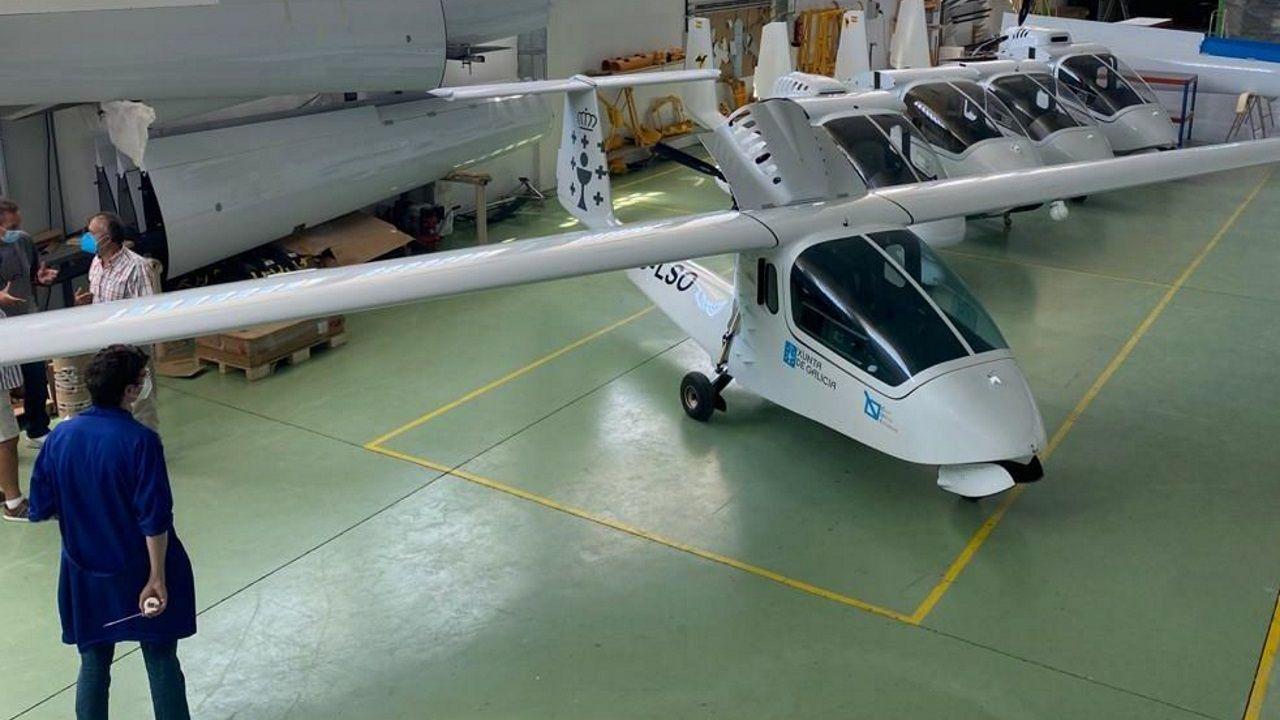Despegue de dron.Fotografías de la embarcación interceptada en la Operación Gigante y de la carga de hachís que transportaba