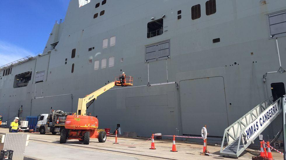 Talento gallego guía el naval australiano.Los jugadores se unen al Movember