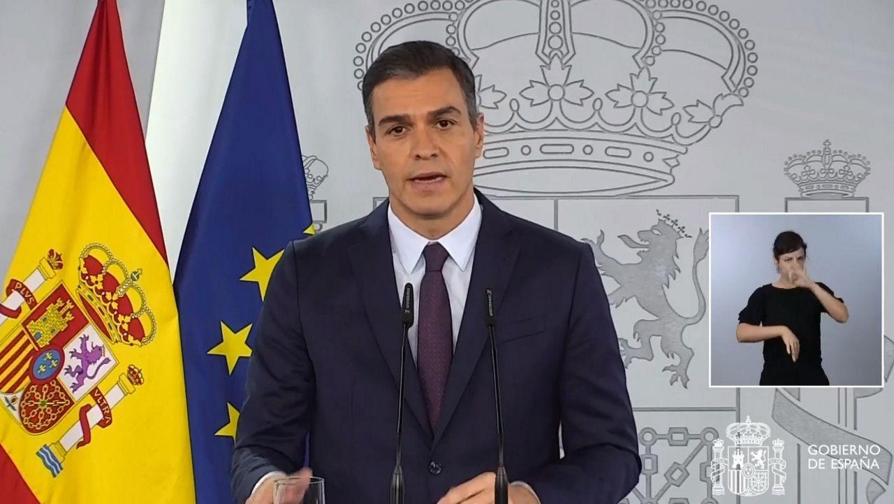 En directo, comparecencia de Pedro Sánchez sobre el coronavirus