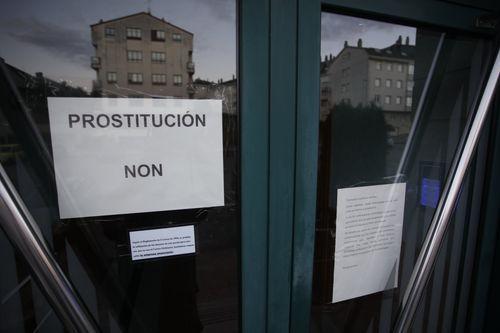 La obra «Prostitución» cerró el FIOT en pausa.Juzgados de Oviedo.
